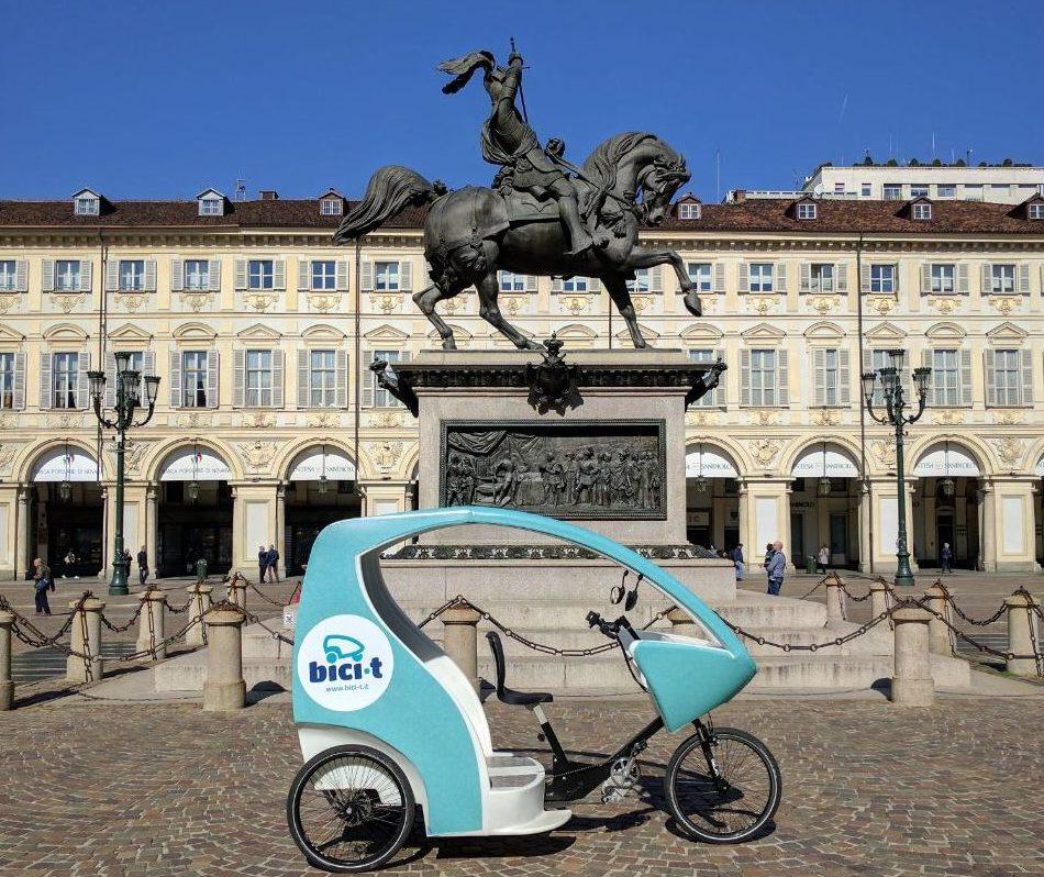Parte a Torino Bici-t, il trasporto turistico sostenibile per scoprire la città