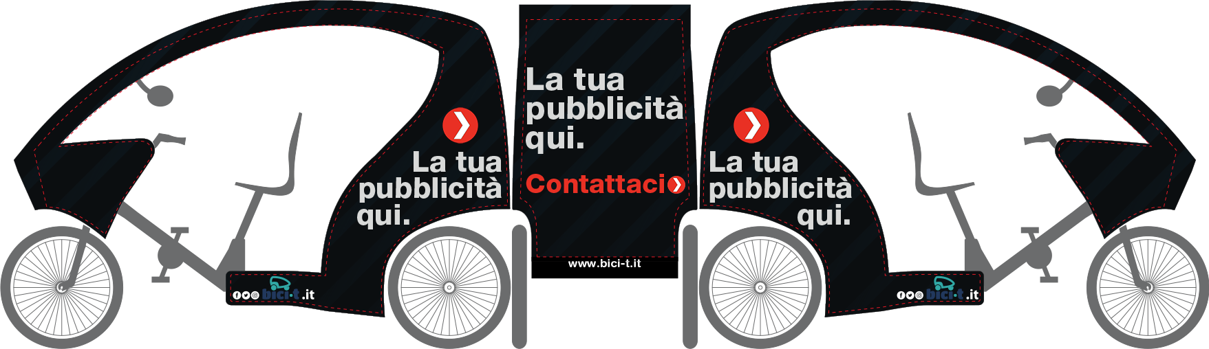 Bici-t. La tua pubblicità qui. Scrivi per info b2b@bici-t.it