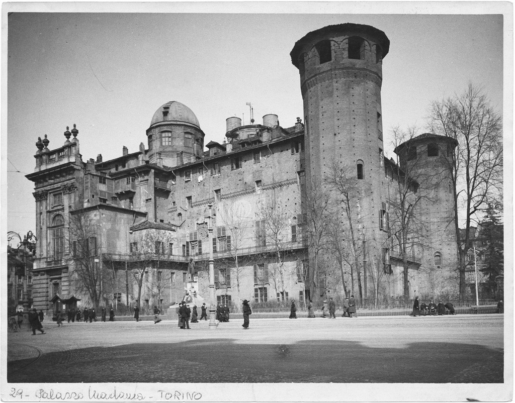 Palazzo Madama. Fotografia di Giancarlo Dall'Armi. © Archivio Storico della Città di Torino