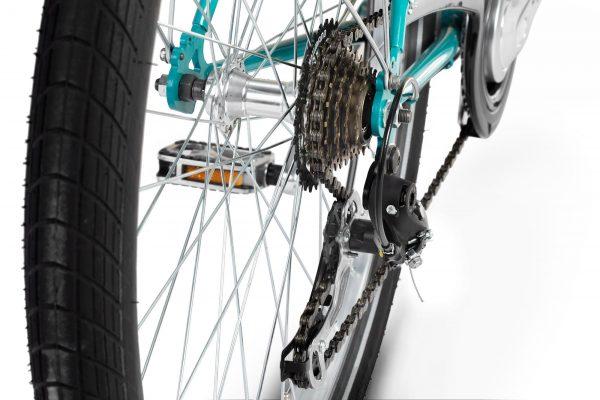 Cambio a 7 Velocità Per essere agili con il carico ma anche veloci a cassone vuoto