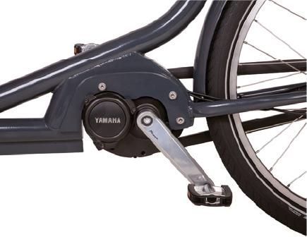 Motore Centrale Yamaha