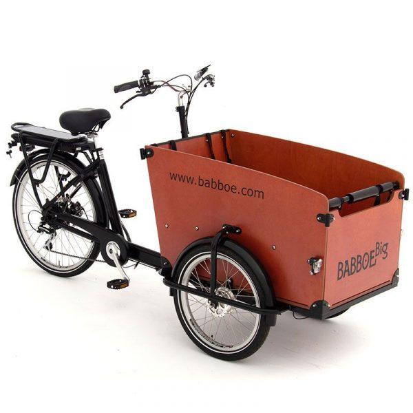 Babboe Big-E - Torino - Vendita - Noleggio - Test Ride - 4 posti per i bambini