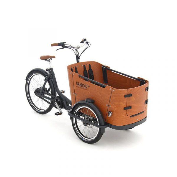 BABBOE GO MOUNTAIN - Elettrica potente con cassone con porticina anteriore - perfetta per 1-2 bambini + 1 cane