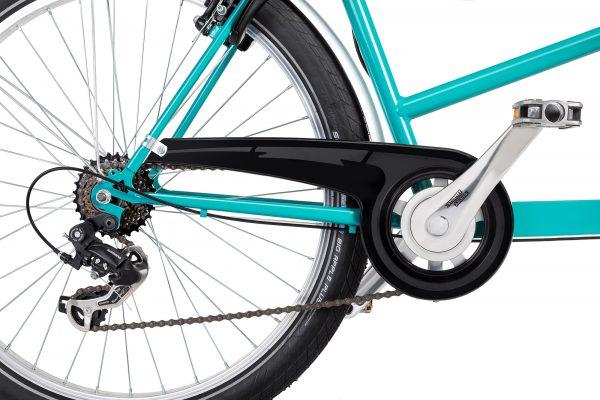 Irena Bike passo lungo cassone in plastica