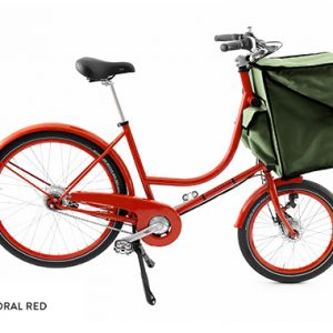 BICICAPACE - COMPACT CLASSIC - Coral Red - Cordura Bag