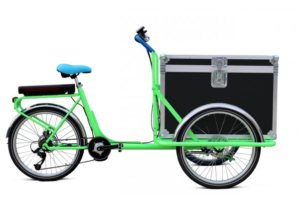 Trikego Elettrico per uso professionale - Flightcase lucchettabile