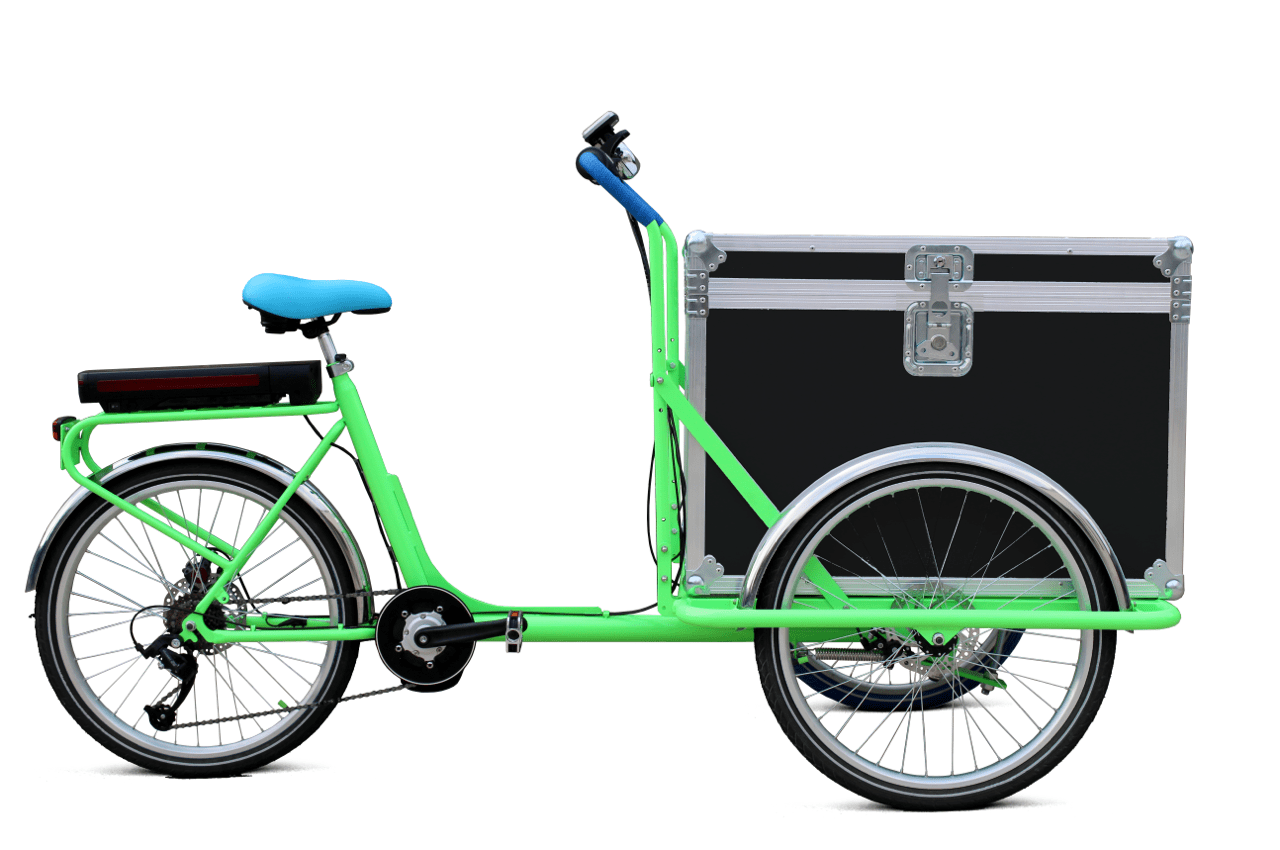 Trikego Elettrico per uso professionale - Flightcase Espositore