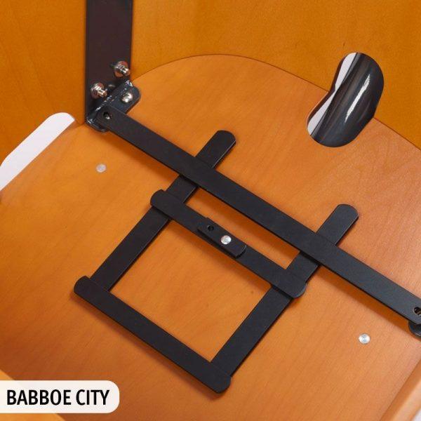 Adattatore per cargo bike babboe porta ovetto Maxi Cosi by Steco - come risulta nella Babboe City
