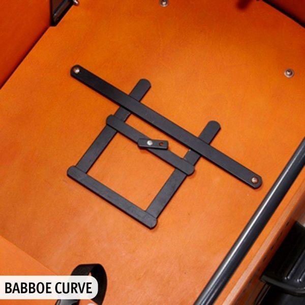 Adattatore per cargo bike babboe porta ovetto Maxi Cosi by Steco - come risulta nella Babboe Curve