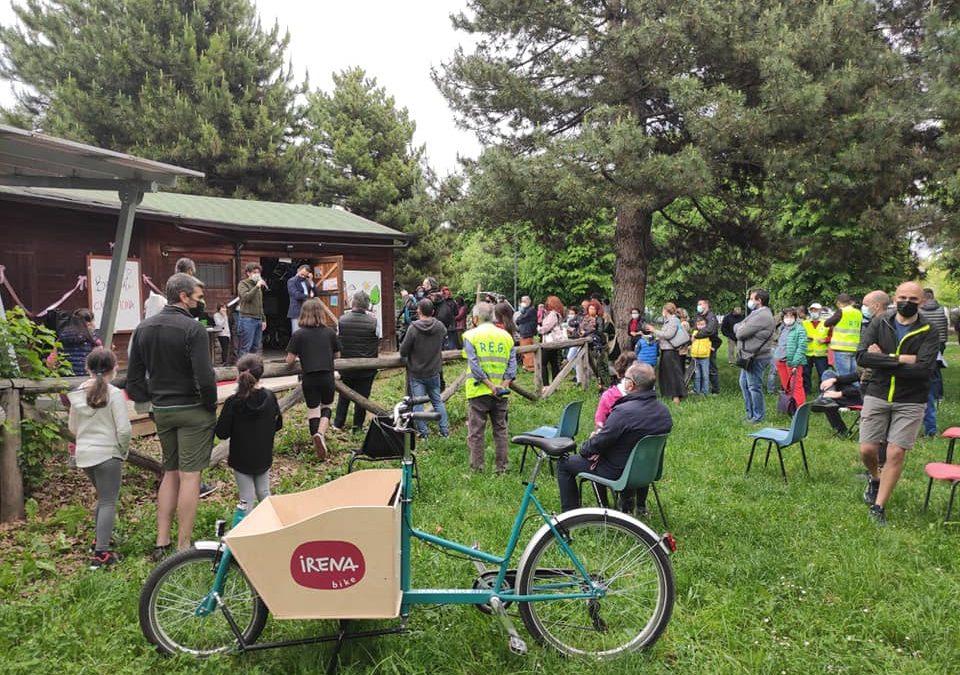 Gru.co, il bicibus con cargo bike